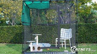 Premium Portable Cat Enclosure | Catnets.com.au