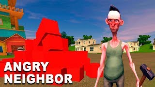 Found MAGIC of CUBA and Revealed a NEW ROOM of the Evil NEIGHBOR! Angry Neighbor Game