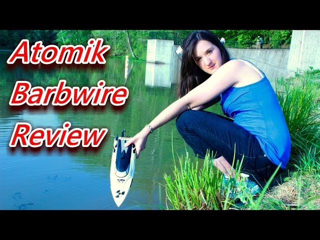 Atomik Barbwire RC Boat Review - TheRcSaylors