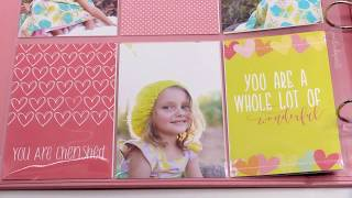Make a Beautiful Baby Girl Photo Book with Easy Albums™ | Scrapbook.com