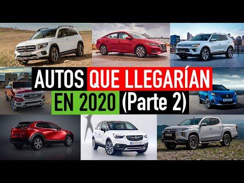 Autos que llegarían en 2020 🚗💨👍🏼 (Parte 2)