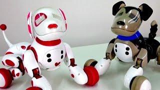 Развивающие игрушки: Интерактивные собачки и Зумер (Zoomer)