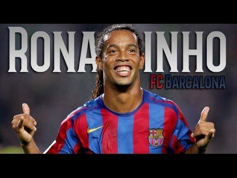 Ronaldinho Gaúcho - The Magician -  Incredible unique Skills & Goals - FC Barcelona