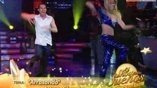 Baile Latin Pop: Anna Carina y Carlos Suárez (Reyes del Show 14-11-09)