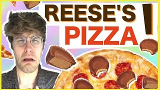 "REESE'S PIZZA?! ""WILL IT COMBO?"" w/ DREW MONSON"