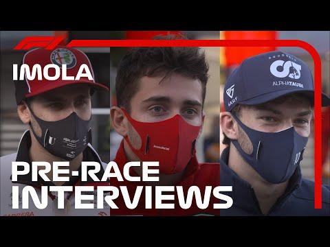 レース前のドライバーインタビュー動画 F1 第13戦エミリア・ロマーニャGP