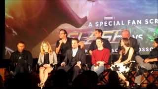 The Flash vs Arrow fan screening Q&A 1/4