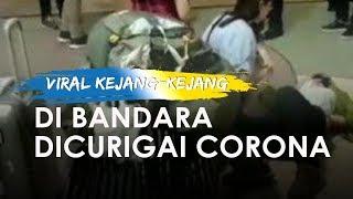 Viral WNA Terkujur Lemah dan Kejang-kejang di Bandara Ngurah Rai Bali, Terjangkit Corona?