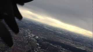 preview picture of video 'Lufthansa Dash 8Q-400 taxi takeoff @ NUE Nuremberg'