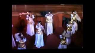 Tambourine Dance Presentation