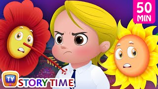 Pinky, The Proud Petunia + More Good Habits Bedtime Stories & Moral Stories for Kids - ChuChuTV