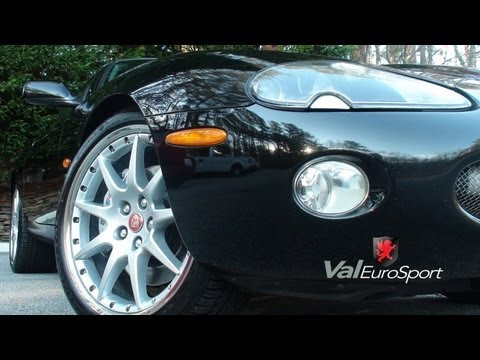 "04 Jaguar XKR coupe 58k 20"" XKR100 Montreal wheels FOR SALE valeurosport"