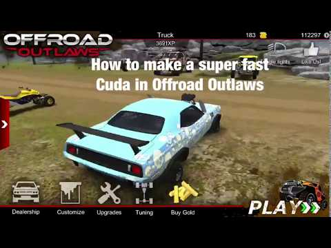 How To Make A Super Fast Cuda. (Offroad Outlaws Part 1)