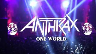 ANTHRAX - ONE WORLD (LIVE AT HOUSE OF METAL 2017)