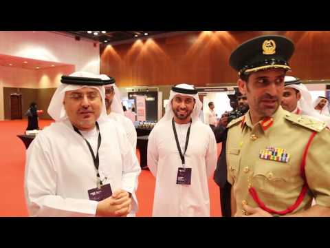 Commander-in-Chief of Dubai Police visits the exhibition accompanying the International Conference on Human Resources