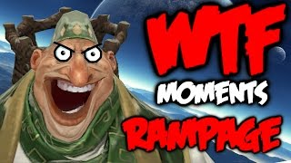 Dota 2 WTF Rampage Compilation 6
