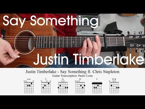 Justin Timberlake And Chris Stapleton Say Something Easy Acoustic