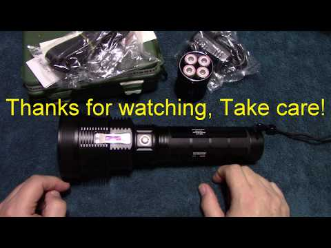 Nitecore TM38 Lite Flashlight Review!
