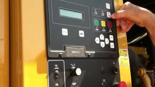 Caterpillar generator maintenance tutorial video 2