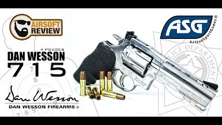 [ FR ] DAN WESSON 715 / ACTION SPORT GAMES # AIRSOFT REVIEW