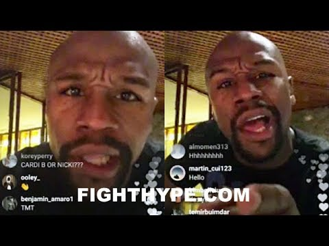 """MAYWEATHER REVEALS COMEBACK OFFER, FIGHTING IN UFC; POPPIN MAD SH*T: """"THERE'S ONLY ONE GOAT…ME"""""""
