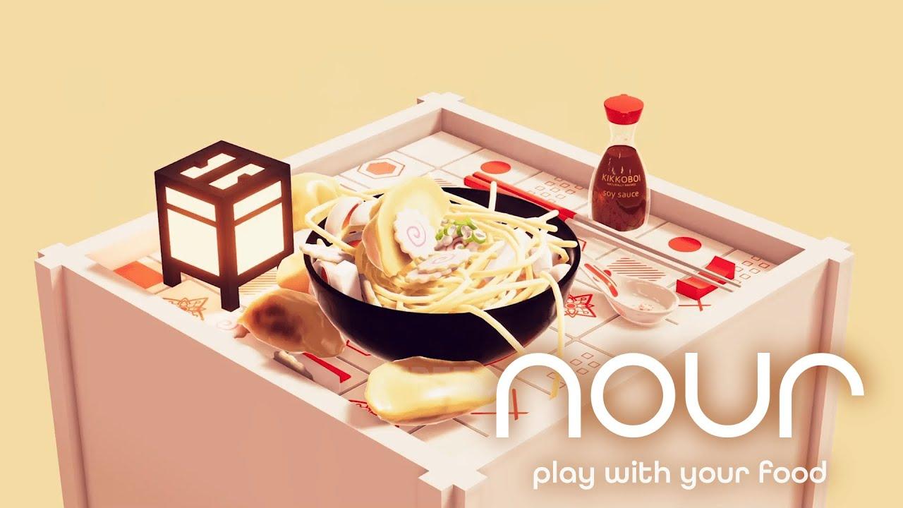 Un delizioso contorno per Nour: Play With Your Food: la colonna sonora interattiva