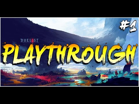 Duelyst -  Playthrough with RipperX #1