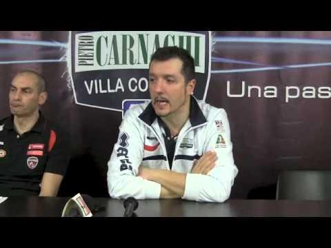 Villa Cortese – Yamamay: Conferenza stampa post gara