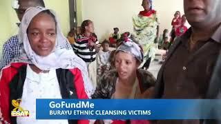 Tamagne Beyene visits people displaced from Burayo