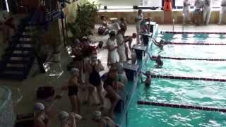 preview picture of video 'Mistrzostwa Śląska w pływaniu Radlin 2013  11 lat'