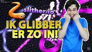 IK GLIBBER ER ZO IN! - SLITHER.IO