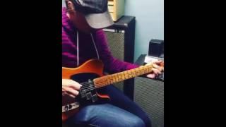 Joe Bonamassa On a Telecaster Guitar