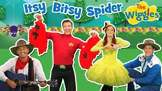 Enjoy 'Itsy Bitsy Spider' from 'The Wiggles Nursery Rhymes'