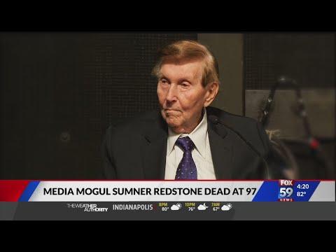 Media mogul Redstone dead at 97
