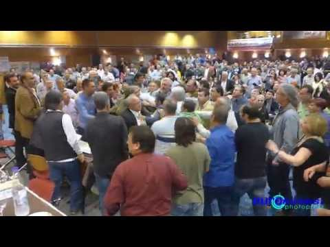 Ξύλο στο συνέδριο της ΠΟΕ-ΟΤΑ [video]