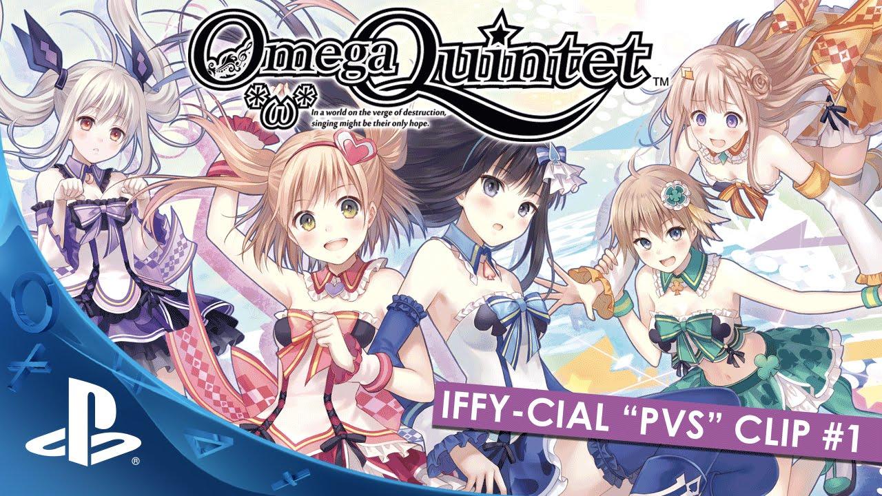 Omega Quintet Chega Hoje ao PS4