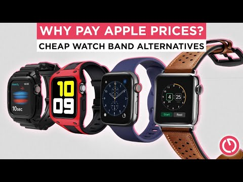 More CHEAP Apple Watch Straps - Surprisingly Good