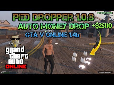 GTA 5 ONLINE/ Ped Dropper Money Hack 1 44 PC (Undetected) - смотреть