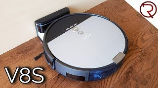 ILIFE V8S Smart Robotic Vacuum REVIEW - Scheduled Cleaning, Mopping & Vacuuming