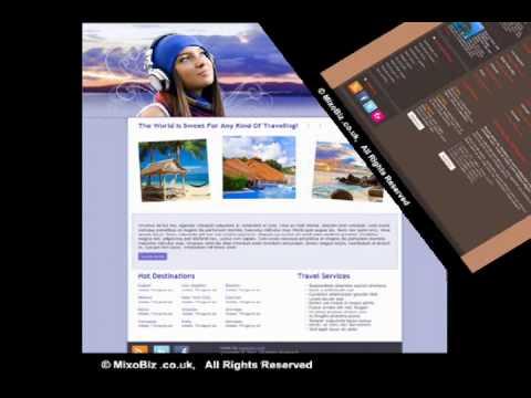 CelebrationsHolidays related web design samples ( MixoBiz )