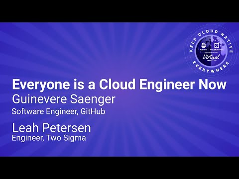 Image thumbnail for talk Sponsored Keynote: Everyone is a Cloud Engineer Now