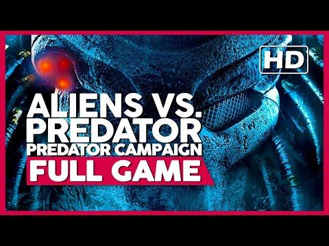 Aliens Vs. Predator (Predator Campaign) | PC 60ᶠᵖˢ | Full Gameplay/Playthrough | No Commentary