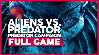 Aliens Vs. Predator (Predator Campaign) | PC 60fps | Full GameplayPlaythrough | No Commentary