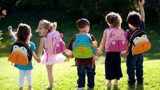 Kindergarten Kids Explain Their First Day Of School
