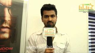 Varma at Agathinai Movie Press Show