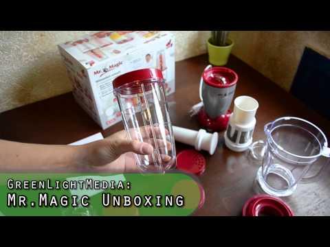 Unboxing Episode 1: Mr Magic Küchenmaschine