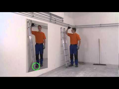 ZARGES Aufbauvideo: Anlegeleiter