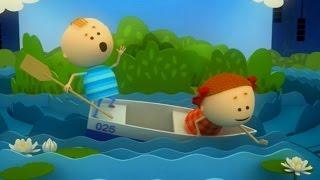 Аркадий Паровозов спешит на помощь - Почему нельзя кататься на лодке без спасательного жилета!