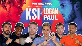 SIDEMEN PREDICT KSI VS LOGAN PAUL