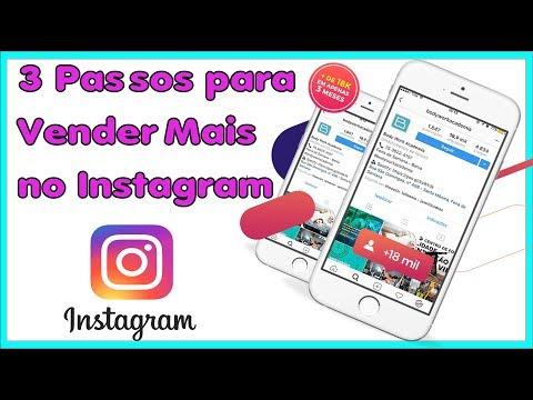 3 Passos para Vender Mais no Instagram ➜ Gerenciagram